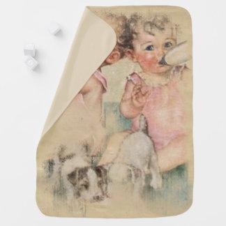 Vintager Schatz Baby-Decke