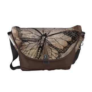 Vintager Schmetterling Kuriertaschen