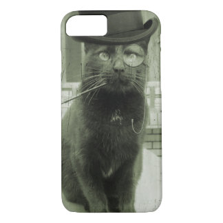 Vintager Steampunk LOL lustiger Katze iPhone Fall iPhone 8/7 Hülle