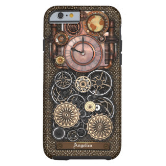 Vintager Steampunk Timepiece Redux #2 Tough iPhone 6 Hülle