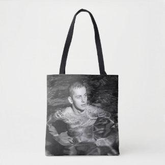 Vintager Stück-Schwimmer Tasche