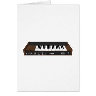 Vintager synthesizer: Modell 3D: Karte