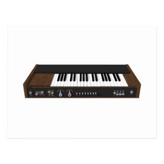 Vintager synthesizer: Modell 3D: Postkarte