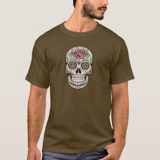 Vintager Tag des toten Zuckerschädels T-Shirt