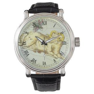 Vintager Tierkreis, Uhr