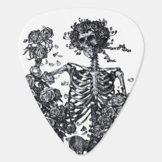 Vintager Tod und Rosen Plektron