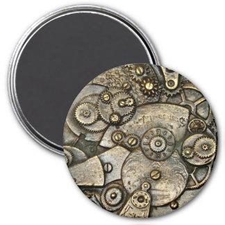Vintager Uhr-Gang-Mechanismus-runder Magnet