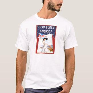Vintager Unabhängigkeits-Tag T-Shirt