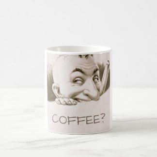 Vintager unverschämter Mann Kaffeetasse