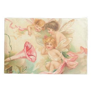 Vintager Valentineamorengel 1 Kissen Bezug