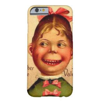 Vintager Valentinemädchen-Telefonkasten Barely There iPhone 6 Hülle