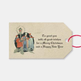 Vintager viktorianischer geschenkanhänger