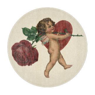 Vintager viktorianischer Valentines-Engel, Schneidebrett