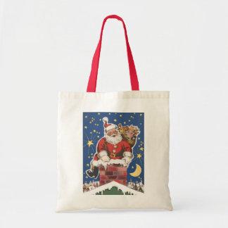 Vintager Weihnachtsmann, Twas Nacht vor Tragetasche