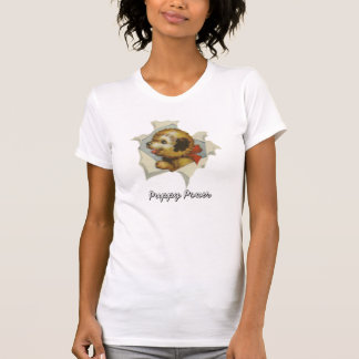 Vintager Welpe Surpise T - Shirt