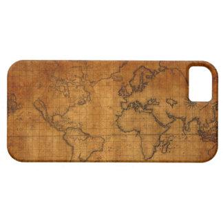 Vintager Weltkarte iPhone 5/5S Fall Etui Fürs iPhone 5