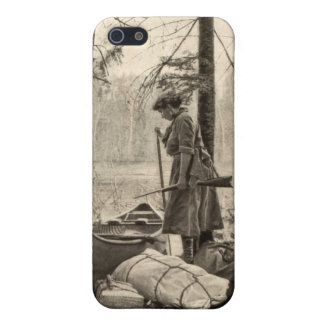 Vintager Winchestersportswoman-Apple iPhone 5 Fall iPhone 5 Schutzhülle