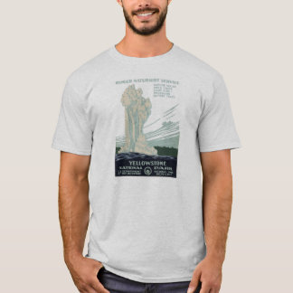 Vintager WPA Yellowstone Park-T - Shirt