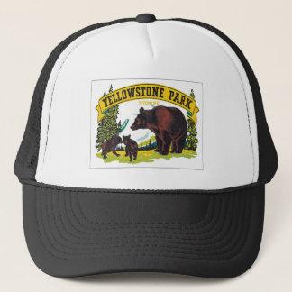 Vintager Yellowstone-Park Wyoming USA Truckerkappe