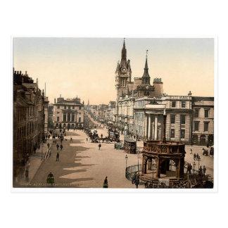 Vintages Aberdeen - Gewerkschafts-Straße Postkarte