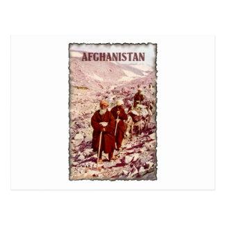 Vintages Afghanistan Postkarte