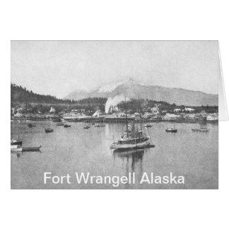 Vintages Alaska Karte