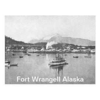 Vintages Alaska Postkarte