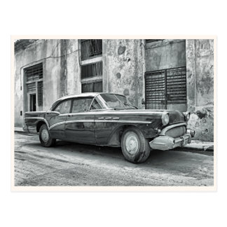 Vintages altes Auto Postkarte