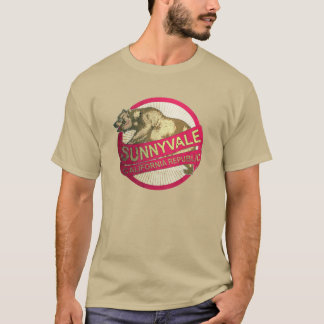 Vintages Bärnt-shirt Sunnyvale Kalifornien T-Shirt