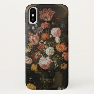 Vintages Barock, Blumen-Stück durch Bosschaert, iPhone X Hülle