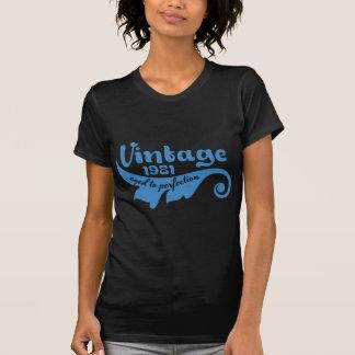 Vintages BLATT gealtert zur Perfektion 1981 T-Shirt