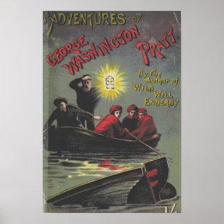 Vintages Buch-Plakat Poster