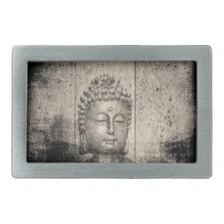 Vintages Buddha-Buddhismus-Yoga Rechteckige Gürtelschnalle