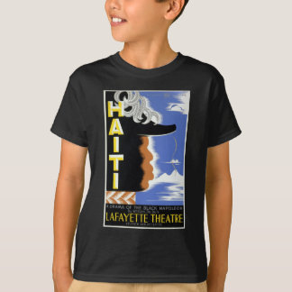 Vintages bundesstaatliches Theater-Projekt Haiti T-Shirt