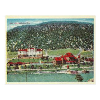 Vintages Colorado Postkarte