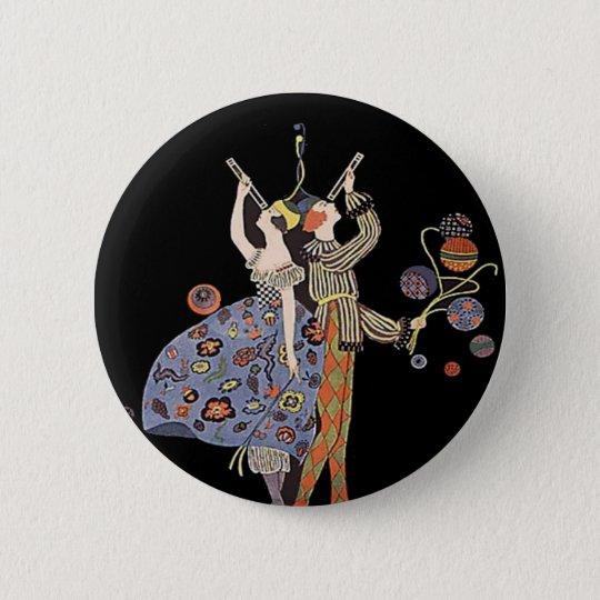 Vintages Deko-Plakat der Kunst-WW1 Runder Button 5,7 Cm