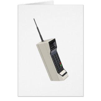 Vintages drahtloses zelluläres Telefon Karte