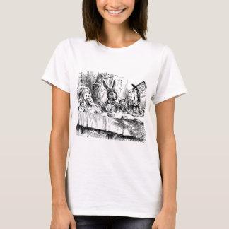 Vintages Druckt-shirt der Alicen im Wunderland - T-Shirt