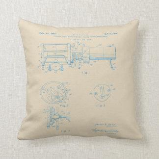 Vintages elektrisches Spulen-Patentkunstkissen Kissen