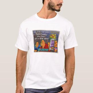 Vintages Evilbrau Anzeigen-Shirt T-Shirt