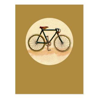 Vintages Fahrrad Postkarten
