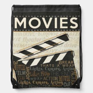 Vintages Film-Scharnierventil Sportbeutel
