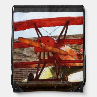 Vintages Flugzeug durch Shirley Taylor Sportbeutel