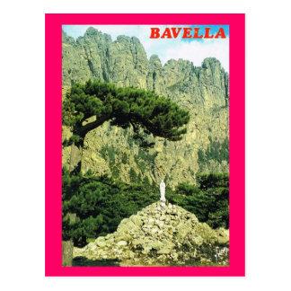 Vintages Frankreich Korsika,    Bavella Postkarte