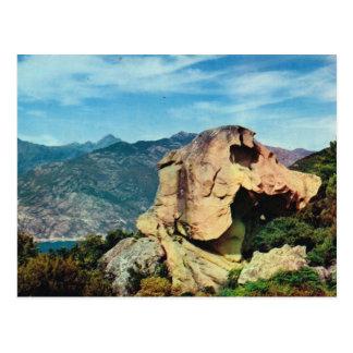 Vintages Frankreich Korsika, Calenche de Plana Postkarte