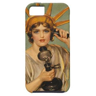 Vintages Freiheitsstatue, WWI patriotische iPhone 5 Schutzhülle