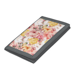 Vintages Frühlingsblumenblumenstrauß Grungemuster