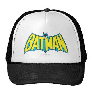 Vintages gelbes blaues Logo des Batman-| Trucker Cap