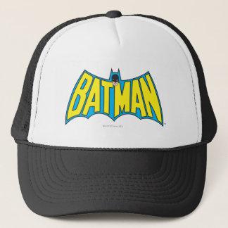 Vintages gelbes blaues Logo des Batman-| Truckerkappe