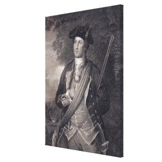 Vintages George- Washingtonporträt Leinwanddruck